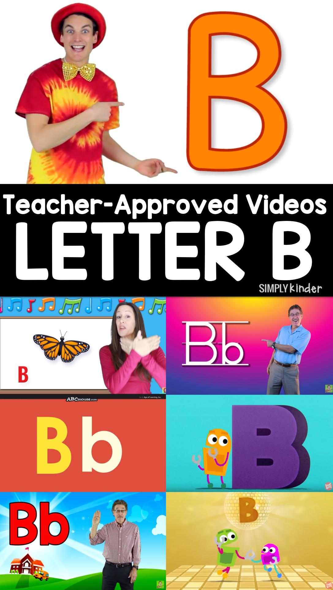 Teacher-Approved Videos Letter B