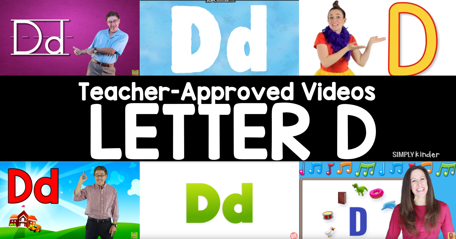 Teacher-Approved Videos Letter D