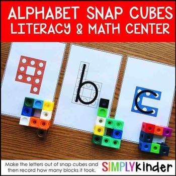 Alphabet Activities Alphabet Snap Block Center – Alphabet Cube Letters