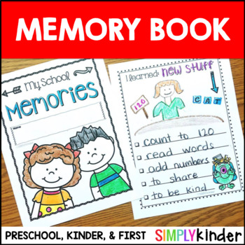 Kindergarten Memory Book – First Grade Memory Book – Preschool Memory Book