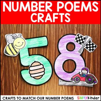Number Poems Crafts