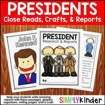 President Reports – Presidents Day Kindergarten – Presidents Day Craft