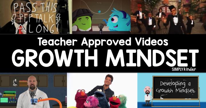 Teacher Approved Growth Mindset Videos
