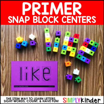Snap Block Center – Primer Activities