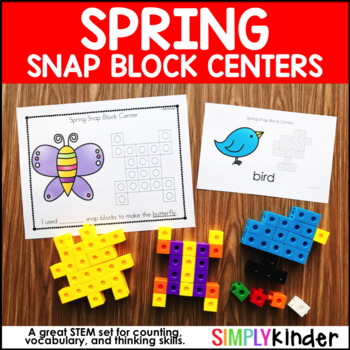 Spring Activities – Spring Snap Block Center
