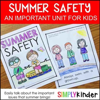 Summer Activities – Summer Safety Book