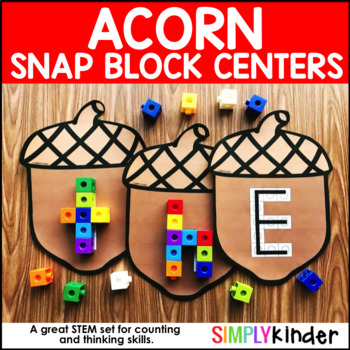 Acorn Snap Block Center – Alphabet