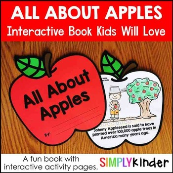 All About Apples – Apple Activities Book for Kindergarten and First Grade