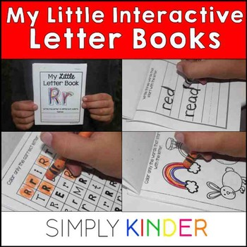 Alphabet Books – Little Letter Books