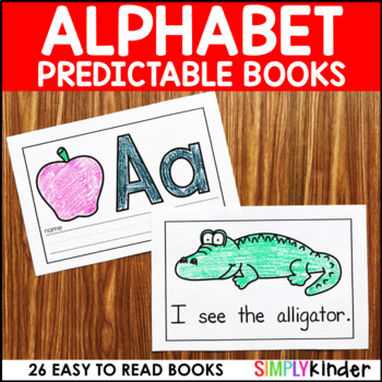 Alphabet Books (With Editable Sight Words)
