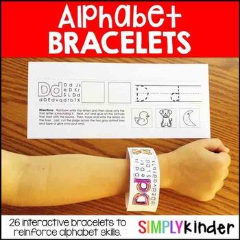 Alphabet Bracelets – Alphabet Activities