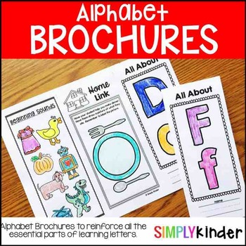 Alphabet Brochures