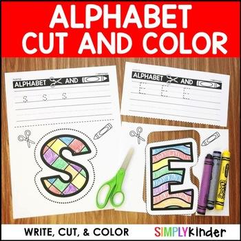 Alphabet Cut and Color