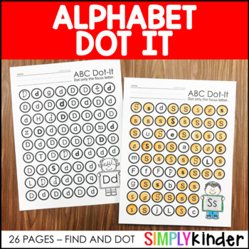 Alphabet Dot It