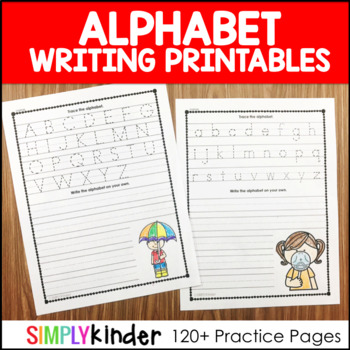 Alphabet Letters – Alphabet Writing Printables