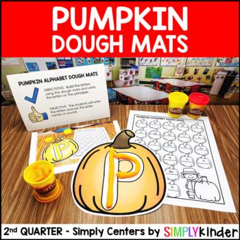 Alphabet Playdough Mats – Kindergarten Center – Simply Centers