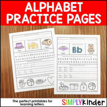 Alphabet Printables – Alphabet Practice Pages