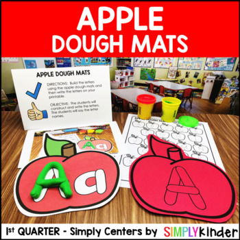 Apple Dough Mats – Kindergarten Center – Simply Centers