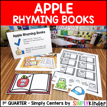 Apple Rhyming Center – Kindergarten Center – Simply Centers