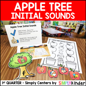 Apple Tree Initial Sound Center – Kindergarten Center – Simply Centers