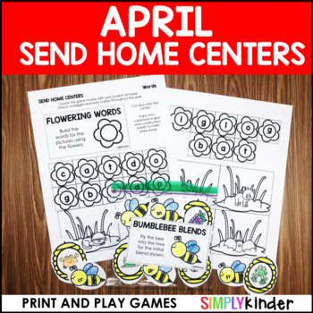 April Send Home Centers