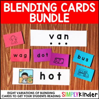 Blending Card Bundle – Short and Long Vowel Blending Cards