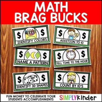 Brag Bucks – Math