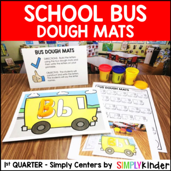 Bus of Initial Sounds – Kindergarten Center – Simply Centers