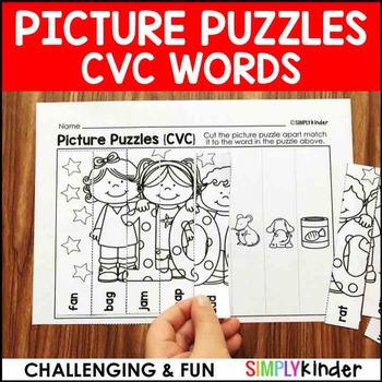 CVC Picture Puzzles