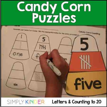 Candy Corn Centers and Games