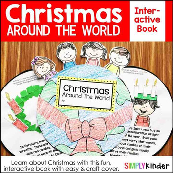 Christmas Around the World Book Kindergarten – Holidays Around the World