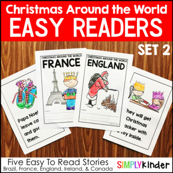 Christmas Around the World Books – Set 2