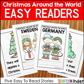 Christmas Around the World Books for Little Learners – Set 1