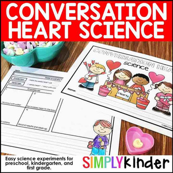 Conversation Hearts Science – Valentine's Day STEM