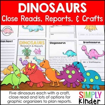 Dinosaur Activities Kindergarten – Research