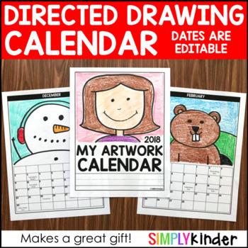 Directed Drawing Calendar – 2019 Calendar 2020 Calendar