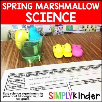 Easter Activities – Spring Marshmallow Science