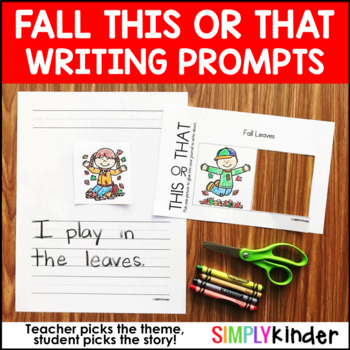 Fall Writing – This or That Fall Writing Prompts