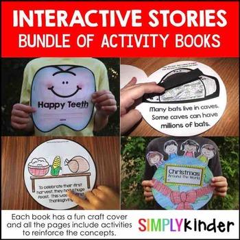 Interactive Stories with Craft Cover Bundle – Kindergarten, Preschool, First