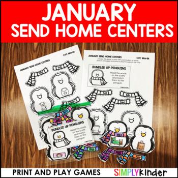 January Send Home Centers