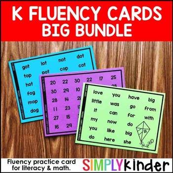 Kindergarten Fluency
