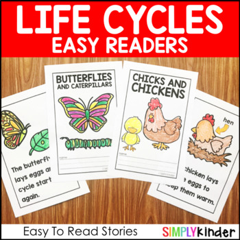 Life Cycle Easy Readers