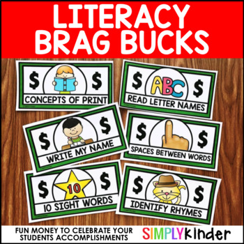 Literacy Brag Bucks