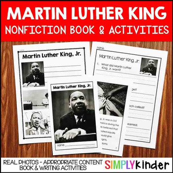 Martin Luther King Activities – Nonfiction Book