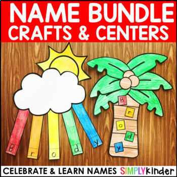 Names – Name Crafts and Centers Bundle