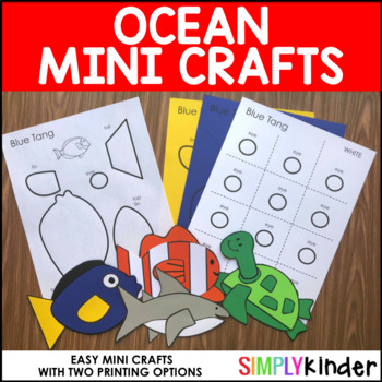 Ocean Mini Crafts