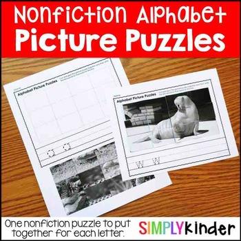 Picture Puzzles – Nonfiction Alphabet