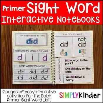 Primer Interactive Notebooks