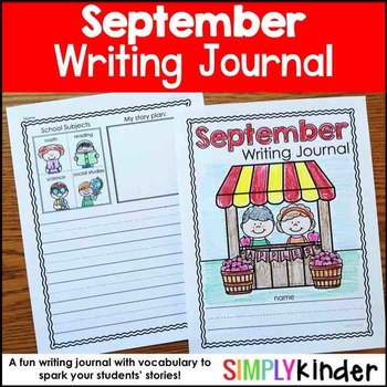 September Writing Journals