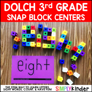 Sight Block Sight Words – 3rd Grade Dolch